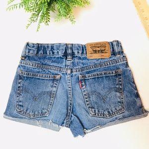 Levi's Jean Shorts Kids 7